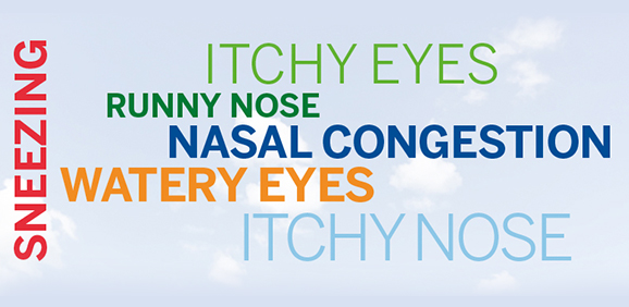 SYMPTOMS AT LARGE: NASAL ALLERGIES